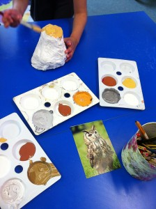 Painting our sculptures