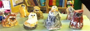 amazing mod-roc owl sculptures