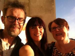 Me with Vic Bearcroft and Carol Bonsor
