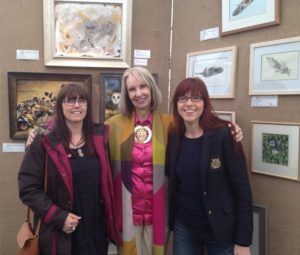 Mandi Baykaa-Murray with Claudia Hahn and Pollyanna Pickering at TWASI 2015