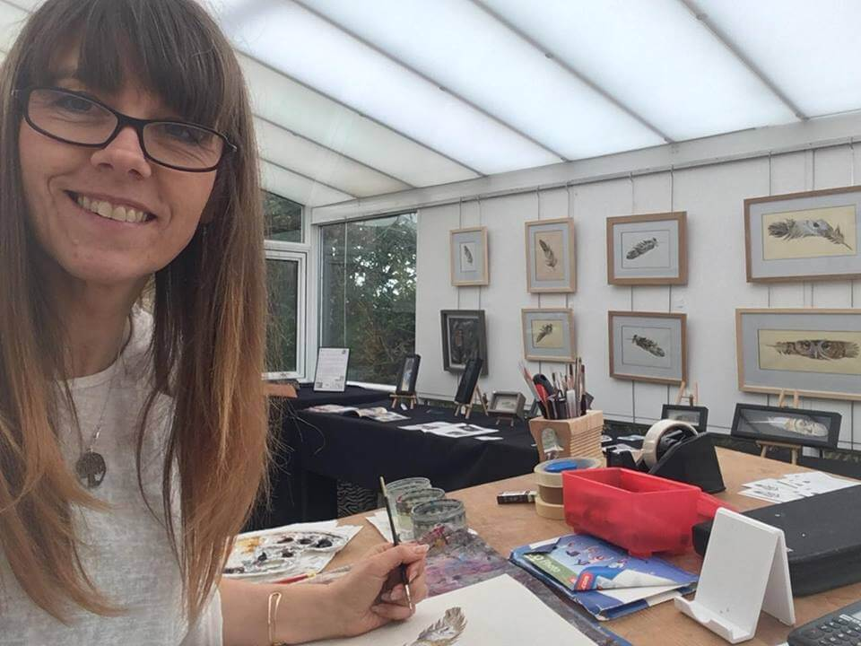 Artist In Residence at Nature In Art