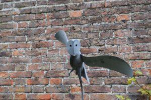 Owl Sculpture in Art Trail @ Beningbrough Hall