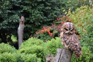 Owl in Art Trail, Beningbrough