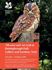 Poster for Oh Wise Owl Art Trail