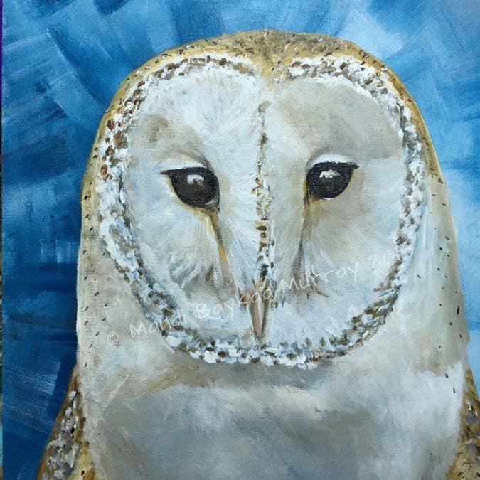 Big, Bold, Barn Owl.