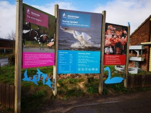 Slimbridge Sign